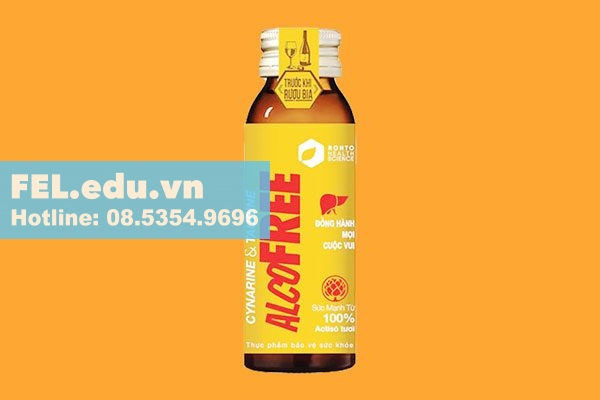 Nước giải rượu Alcofree