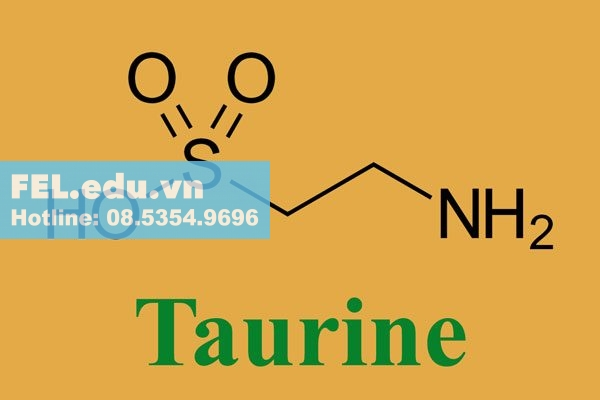 Taurine trong Alcofree