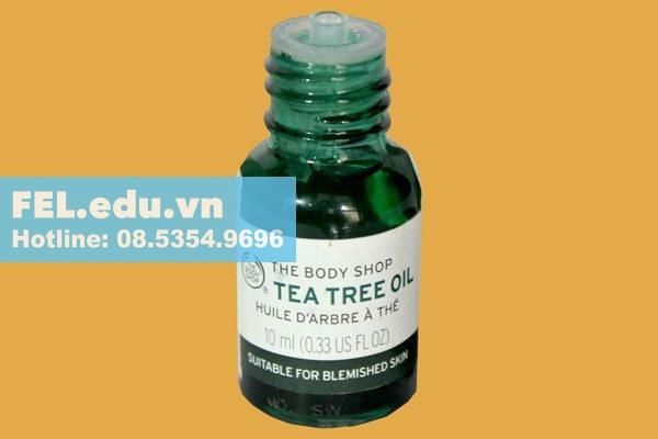 Tinh dầu tràm trà Tea Tree Oil The Body Shop là gì?