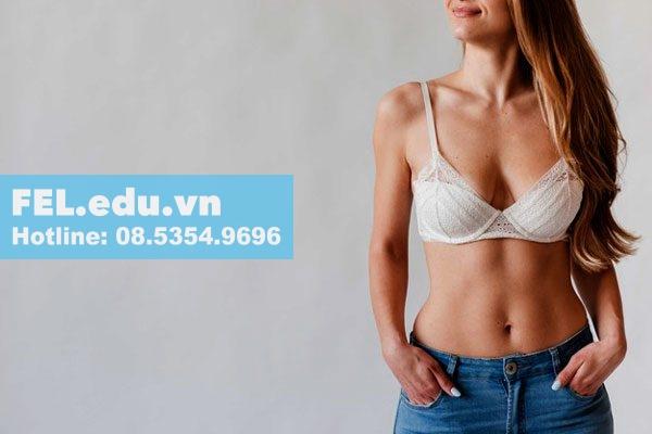 Vùng ngực kín đáo - là phần bị che giấu
