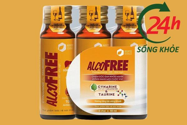 Lọ nước giải rượu Alcofree