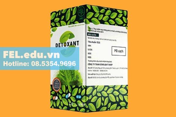 Detoxant - thuốc trị hôi miệng, diệt ký sinh trùng hiệu quả
