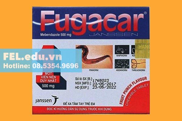 Thuốc trị ký sinh trùng ở người Fugacar