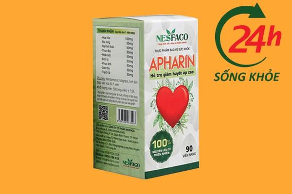 Hiệu quả mang lại khi sử dụng Apharin theo thời gian