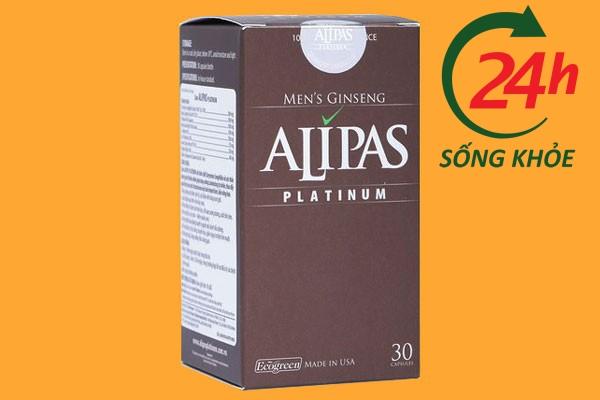 Hộp thuốc cường dương thảo dược Sâm Alipas