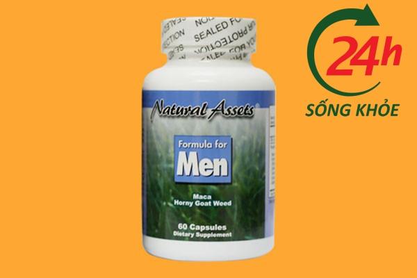 Lọ thuốc cường dương thảo dược Fomula for men