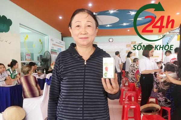 Review Apharin từ Cô Liên, Hà Nội, 67 tuổi