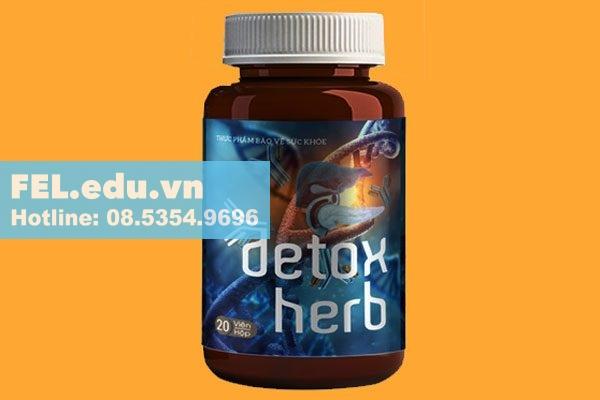 Thuốc diệt ký sinh trùng Detox - Herb