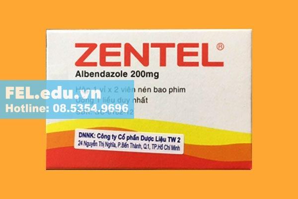 Zentel - Thuốc trị ký sinh trùng ở người