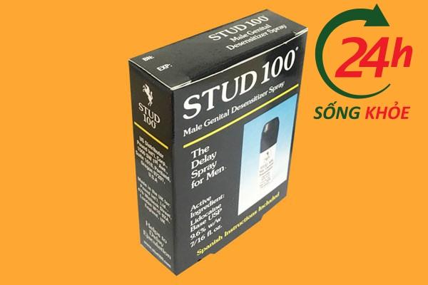 Khi dùng chai xịt Stud 100 có hại không?