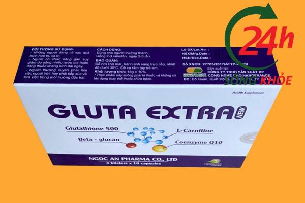 Hướng dẫn sử dụng và liều dùng hiệu quả của Gluta Extra