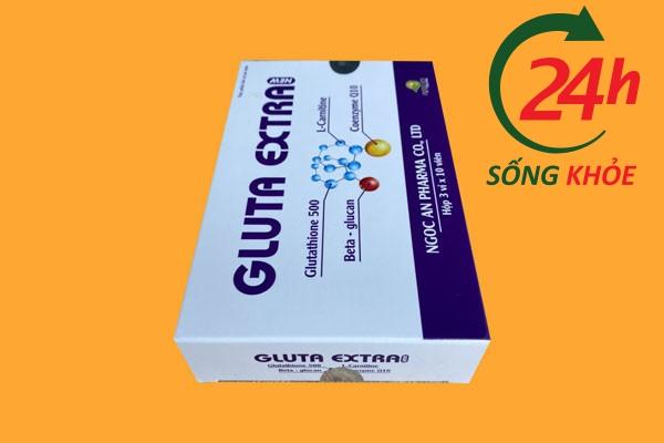 Gluta extra có tác dụng tạo ra hàng rào bảo vệ cơ thể chống lại các tác nhân oxy hóa