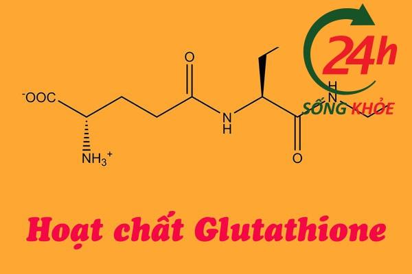 Hoạt chất Glutathione trong Gluta Extra