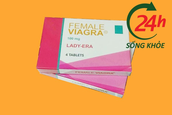 Hộp thuốc kích dục Viagra cho nữ Lady Era