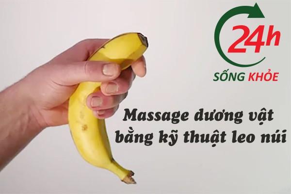 Massage dương vật bằng kỹ thuật leo núi