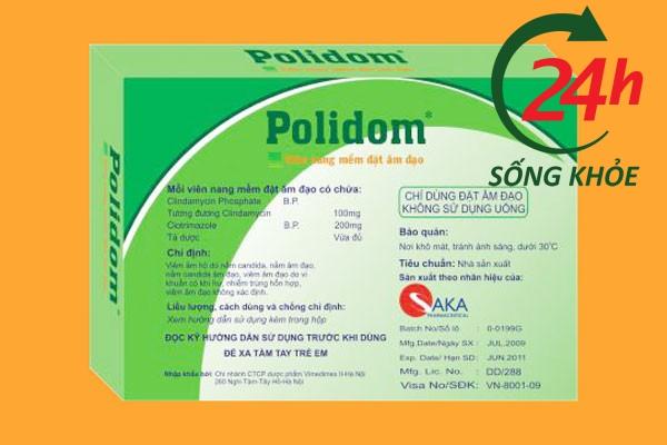 Không sử dụng thuốc Polidom cho những người đang trong thời kì kinh nguyệt