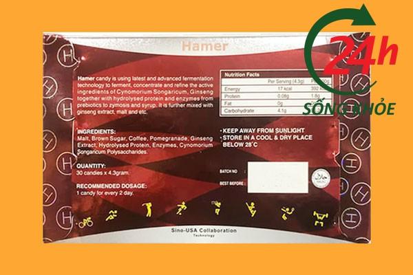 Đánh giá từ chuyên gia về kẹo sâm Hamer