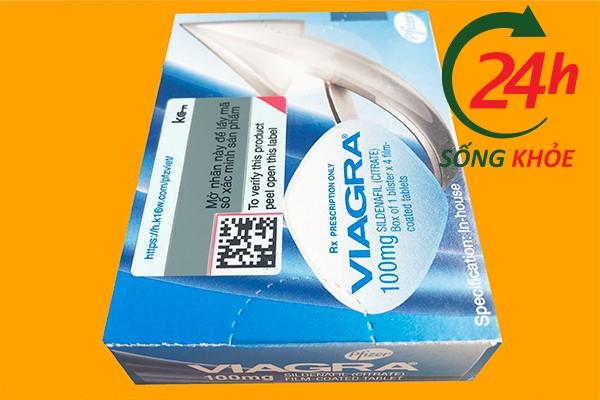 Thuốc Viagra 100mg có tác dụng trong bao lâu?