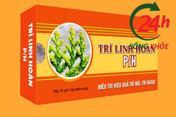 Hộp thuốc Trĩ Linh Hoàn P/H