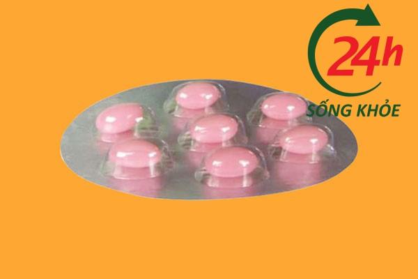 Thuốc polidom dùng đường đặt âm đạo trước khi bệnh nhân đi ngủ