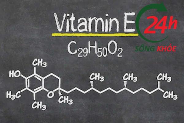 Vitamin E trong thành phần của tinh hàu biển OB