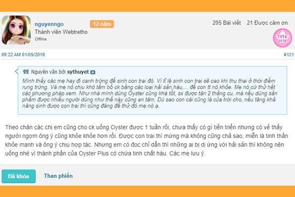 Oyster plus webtretho