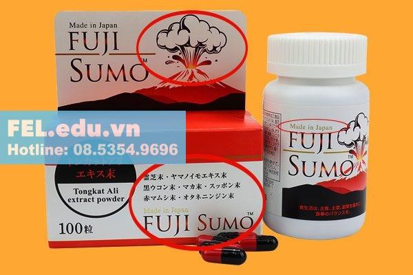 Cách phân biệt Fuji Sumo thật giả