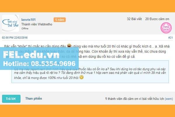 Review Sâm Alipas webtretho