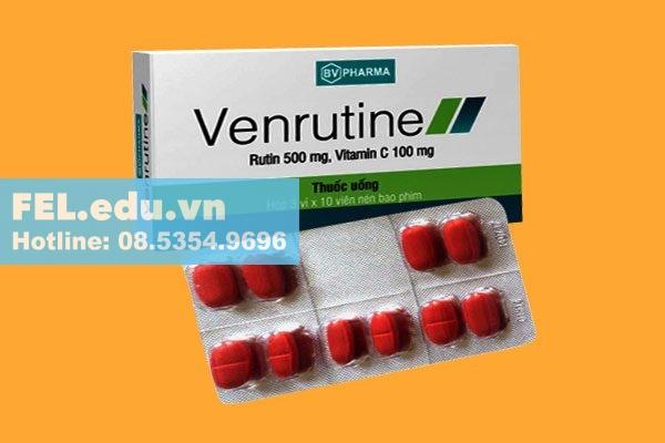 Thuốc Venrutine là thuốc gì?