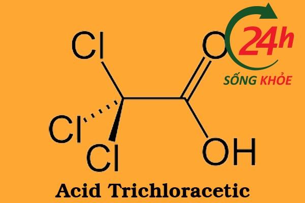 Thành phần của Thuốc trị mụn cóc Acid Trichloracetic