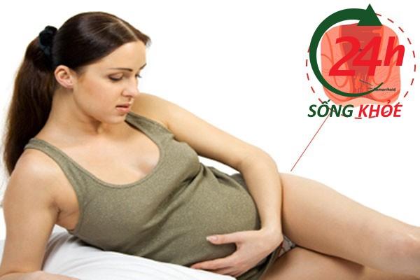 Mang thai thường bị trĩ nội