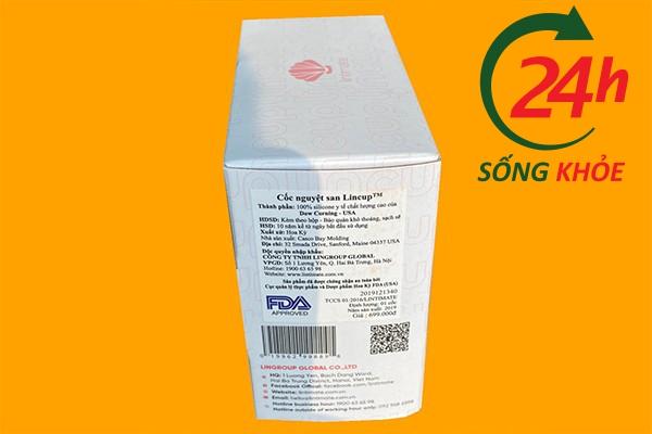 Cốc nguyệt san Lincup được FDA phê duyệt tại Mỹ