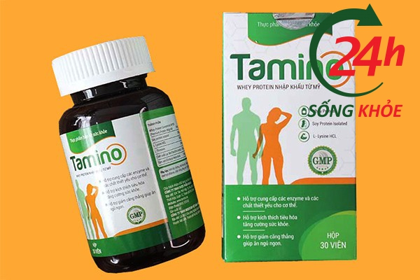 Đối tượng sử dụng Viên uống tăng cân Tamino