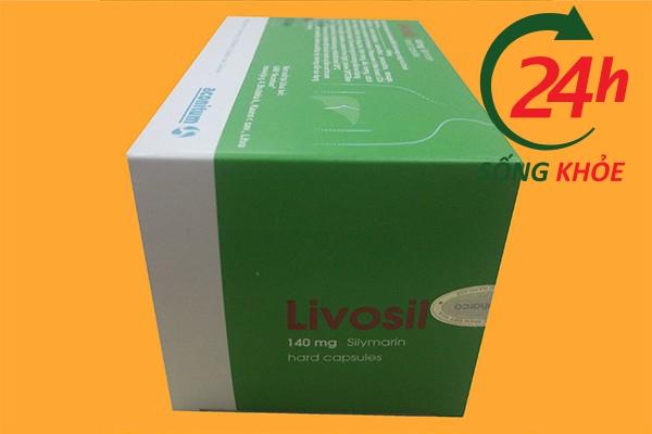 Thuốc Livosil 140mg có giá bao nhiêu?