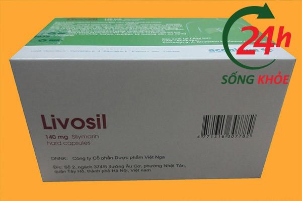 Công dụng của thuốc Livosil