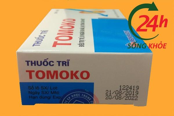 Công dụng của thuốc trĩ Tomoko