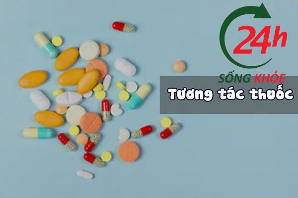 Khi sử dụng cần phải chú ý đến tương tác thuốc của Avonza