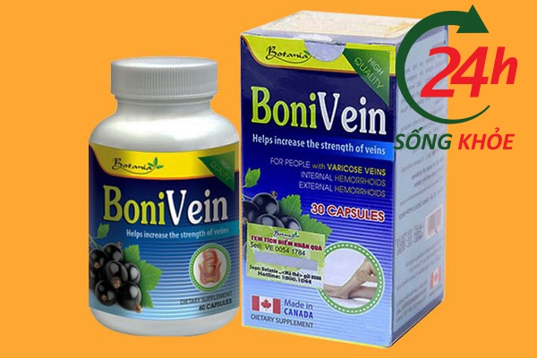 Thuốc tây chữa bệnh trĩ Bonivein