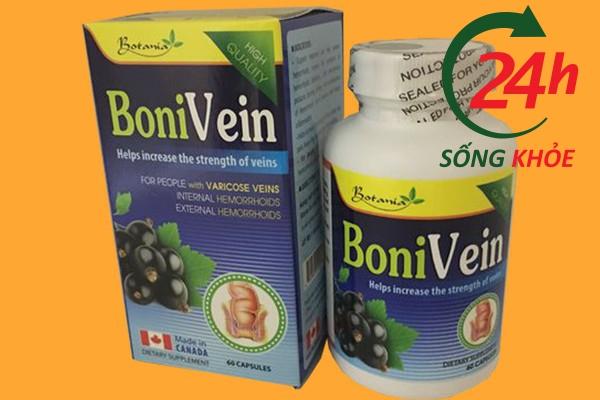 Chống chỉ định đối với Bonivein