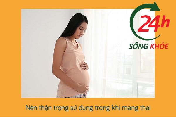 Thận trọng sử dụng thuốc Duofilm đối với phụ nữ có thai và cho con bú