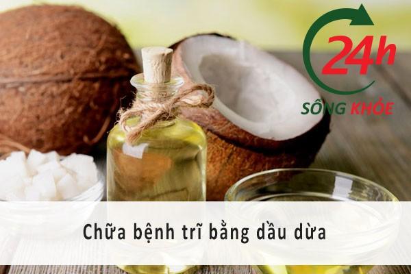 Bệnh trĩ và cách chữa trị bệnh trĩ bằng dầu dừa