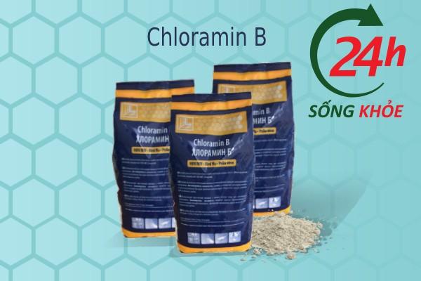 Cloramin B là chất tẩy được sử dụng nhiều nhất hiện nay