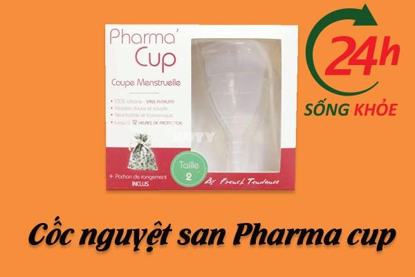 Cốc nguyệt san Pharma cup.