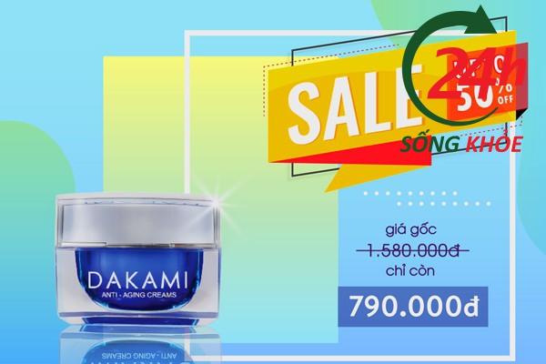 Giá kem Dakami bao nhiêu tiền?