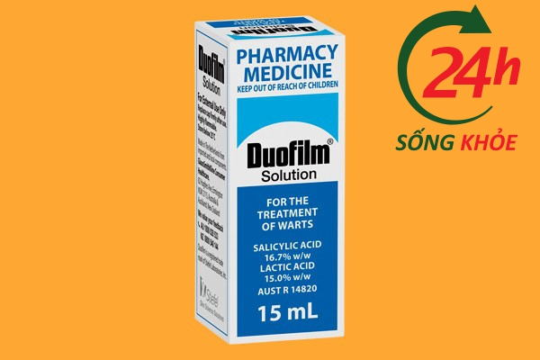 Thuốc trị mụn cóc Duofilm 15ml