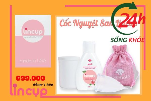 Giá bán trên thị trường của Cốc Nguyệt San Lincup