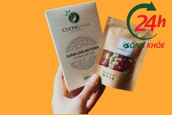 Giảm cân Cường Anh chứa nhiều loại thảo mộc có lợi cho đường tiêu hóa