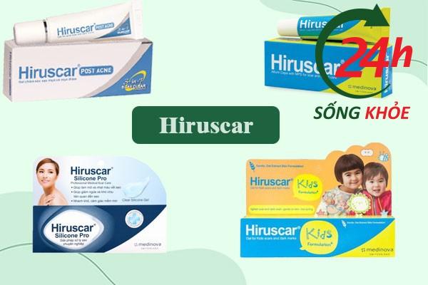 Kem trị sẹo Hiruscar