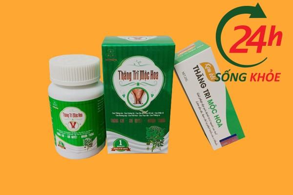 Thăng Thăng Trĩ Mộc Hoa là thực phẩm bảo vệ sức khỏe Mộc Hoa