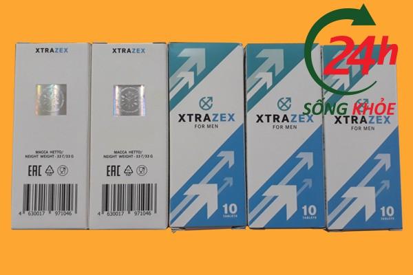 Viên sủi Xtrazex giúp tăng cường sinh lý phái mạnh hiệu quả